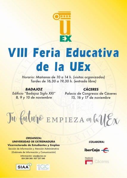 Calendario Uex.Educarex Viii Feria Educativa De La Uex