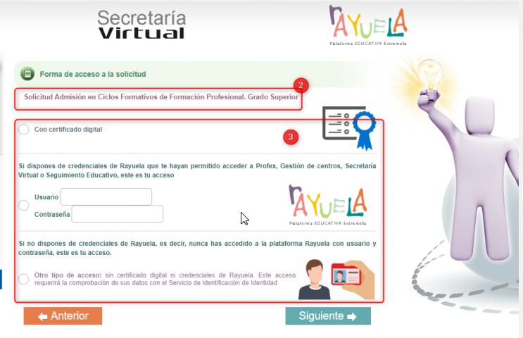 Educarex Acceso A Rayuela